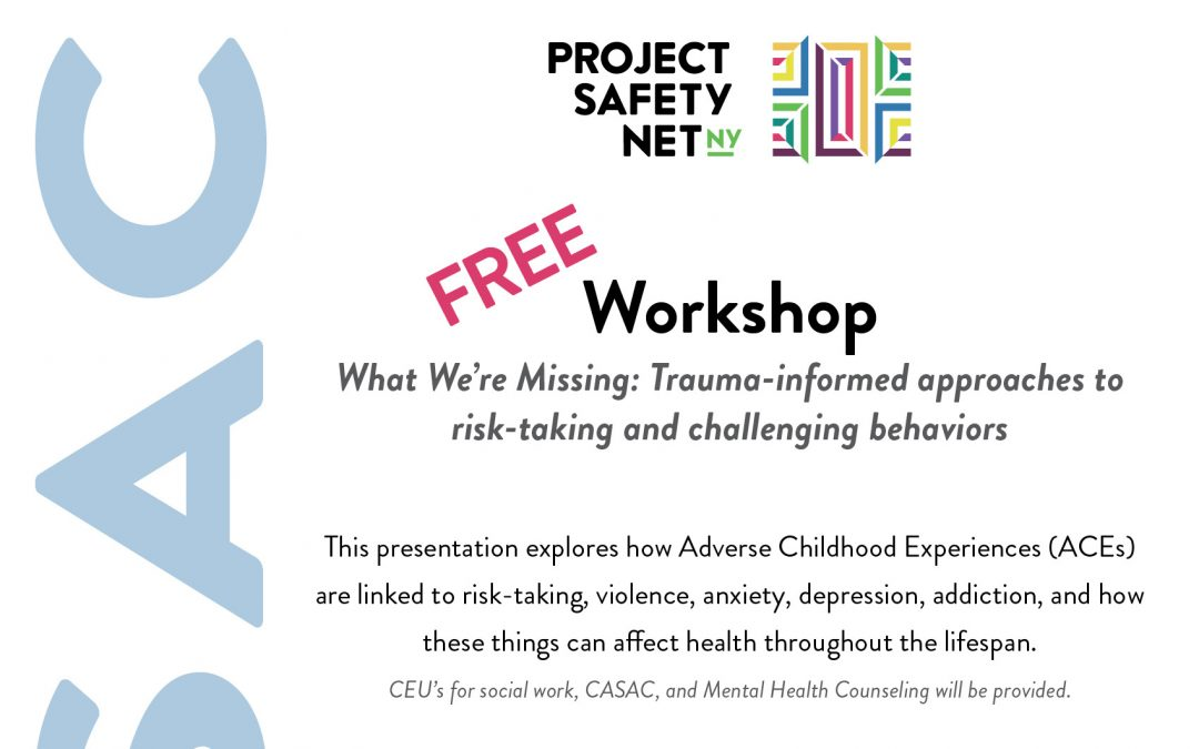 Free CASAC Workshop: What We're Missing