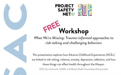Free CASAC Virtual Workshop: What We're Missing